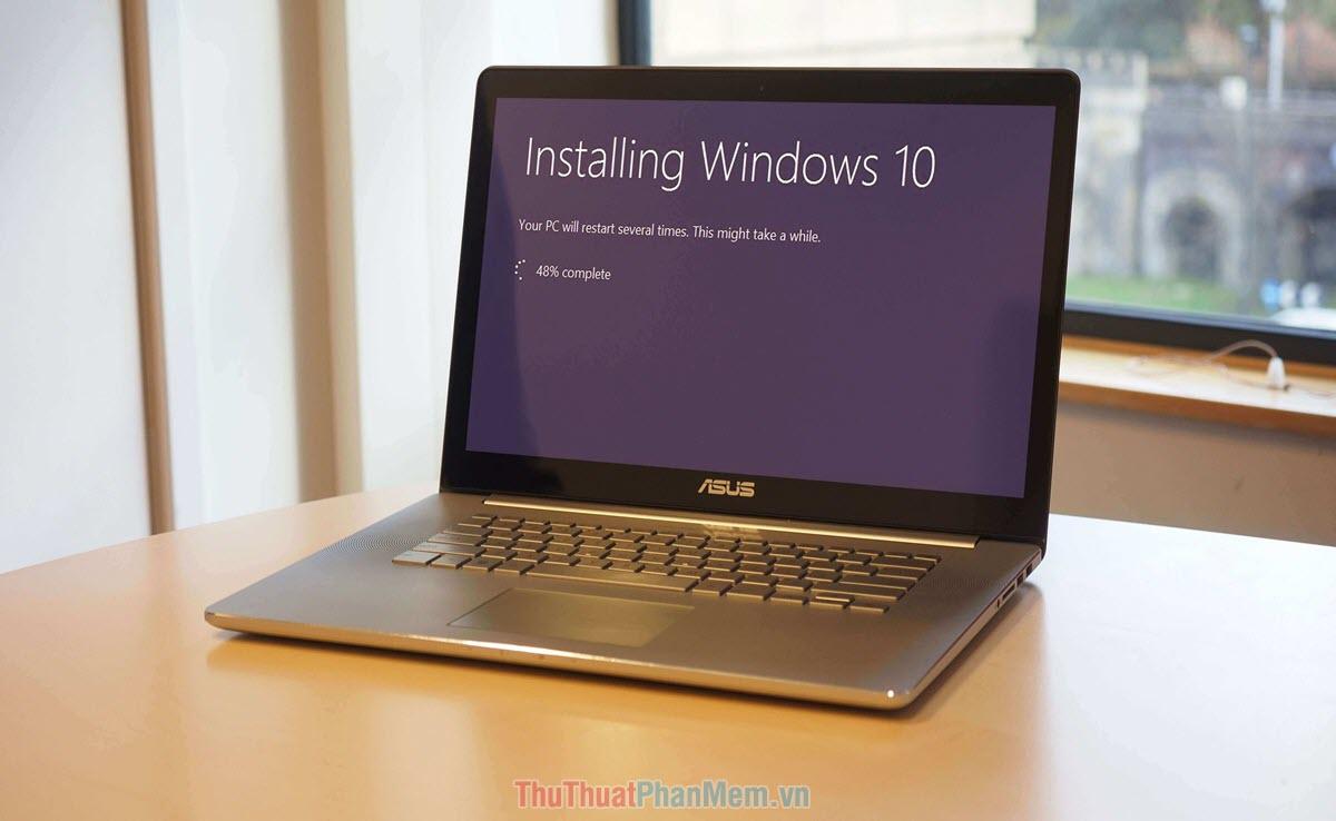 Cài đặt lại hệ điều hành Windows