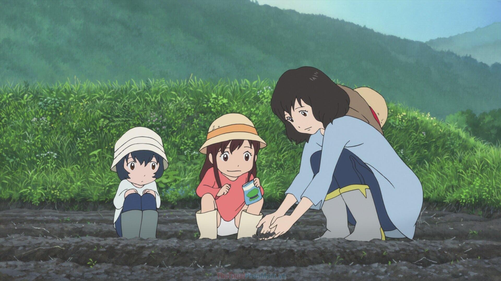 Những đứa con của sói Ame & Yuki