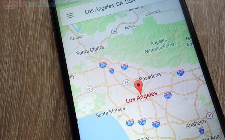 Cách lấy tọa độ trên Google Map