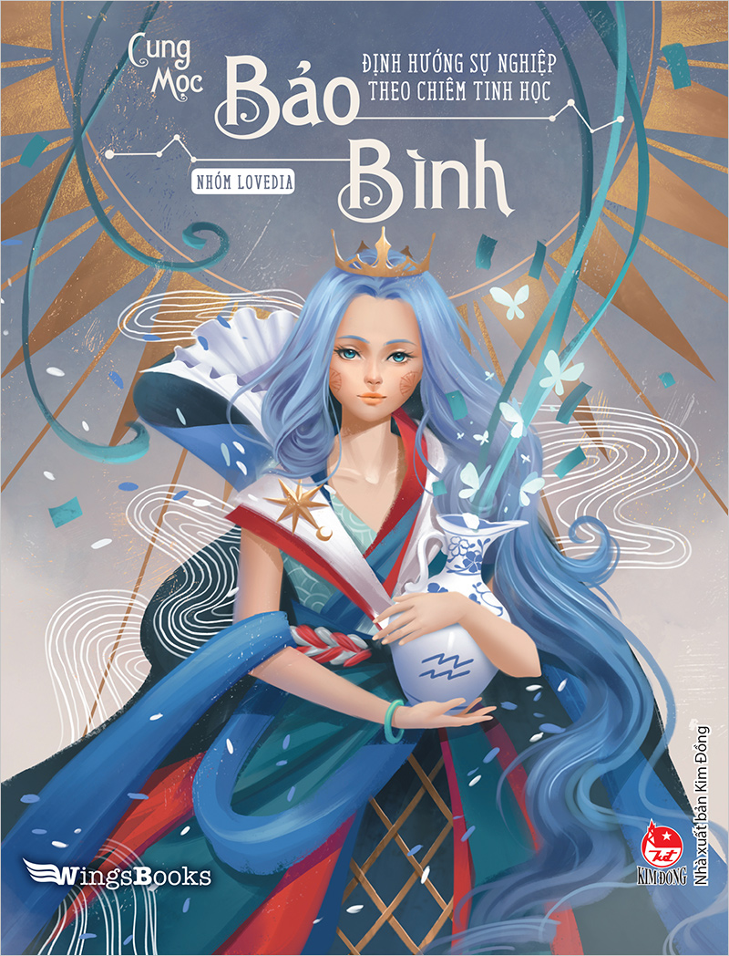Hình ảnh bìa sách Bảo Bình cực đẹp