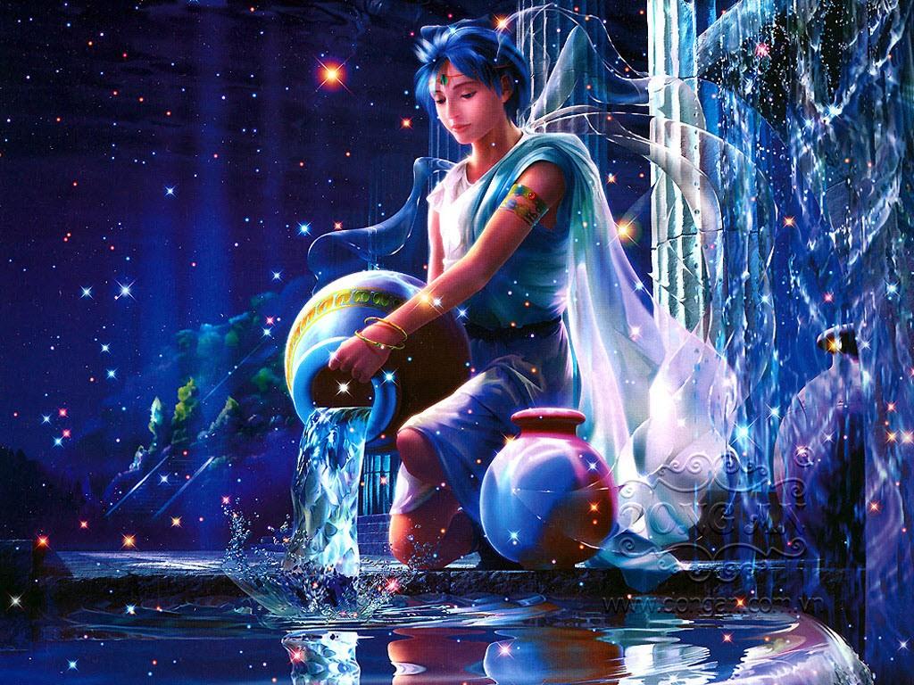 Hình ảnh chàng trai cung Bảo Bình đổ nước