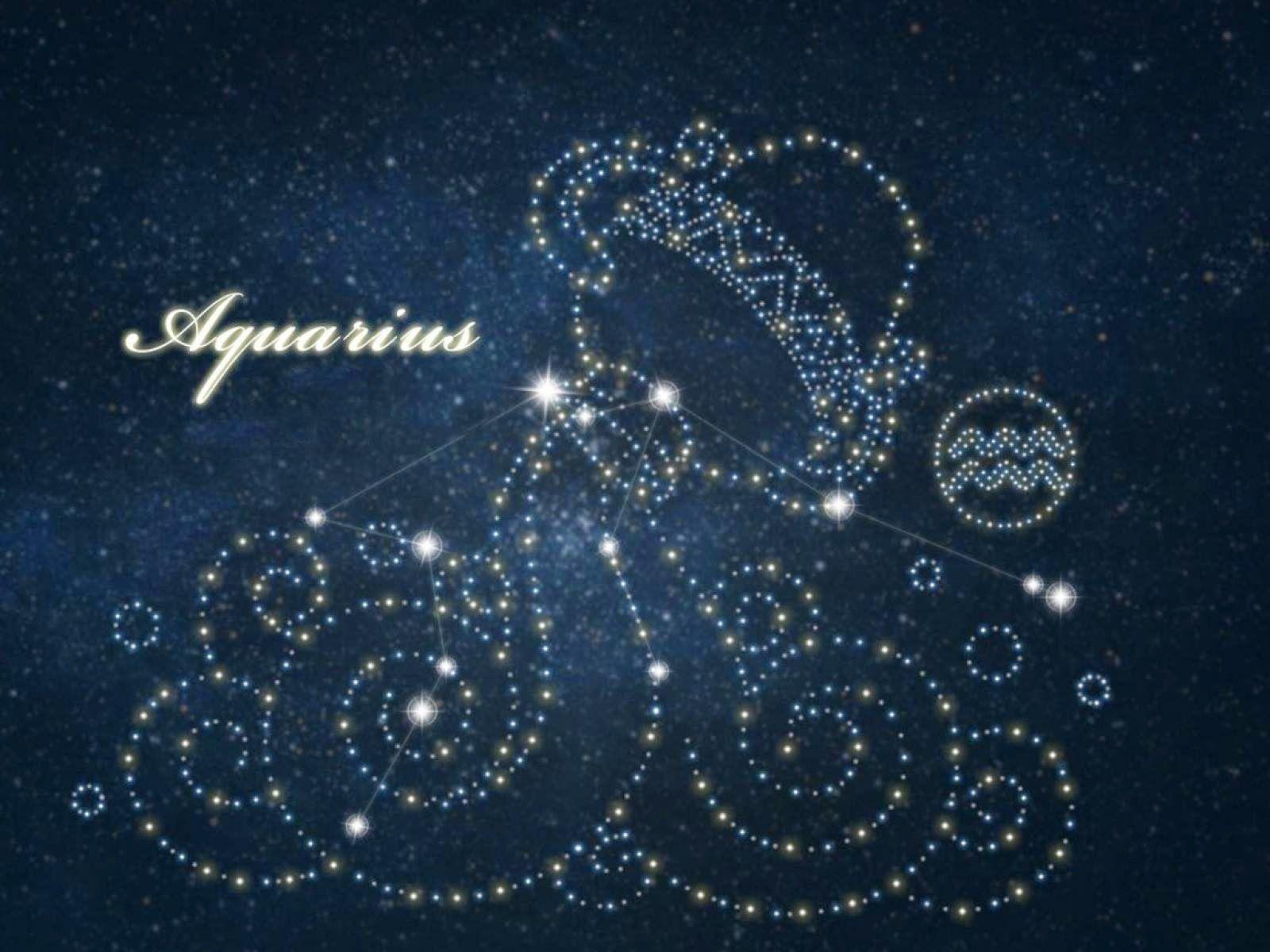 Hình ảnh chòm sao Bảo Bình lấp lánh cực đẹp