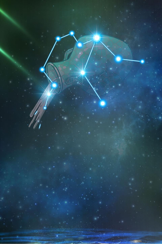 Hình ảnh chòm sao cung Bảo Bình cực đẹp