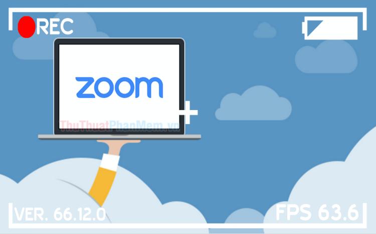 Cách ghi lại video học online trên Zoom Meetings