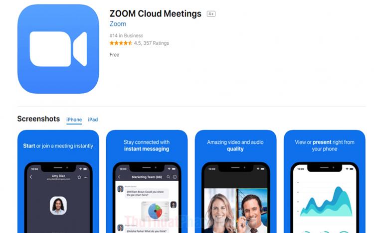 Hướng dẫn cách sử dụng Zoom Mettings trên điện thoại