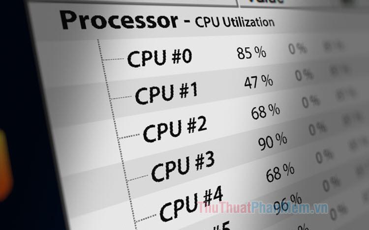 CPU usage là gì?