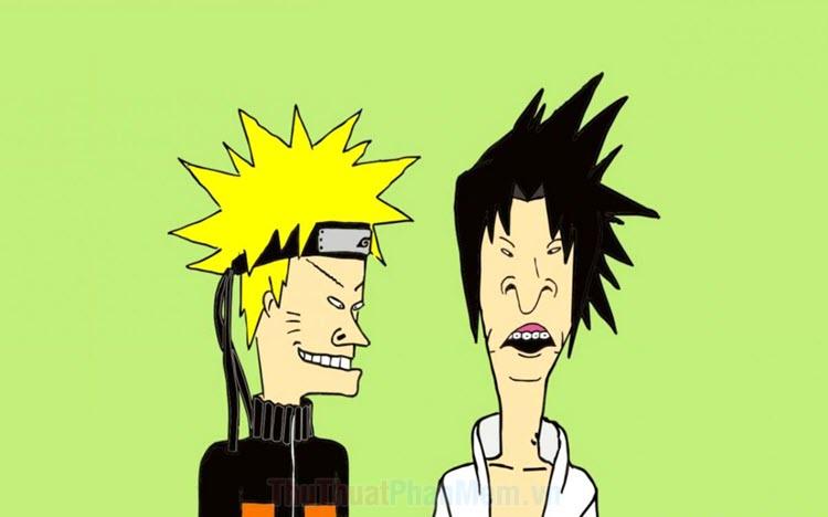 Hình ảnh Naruto chế hài hước