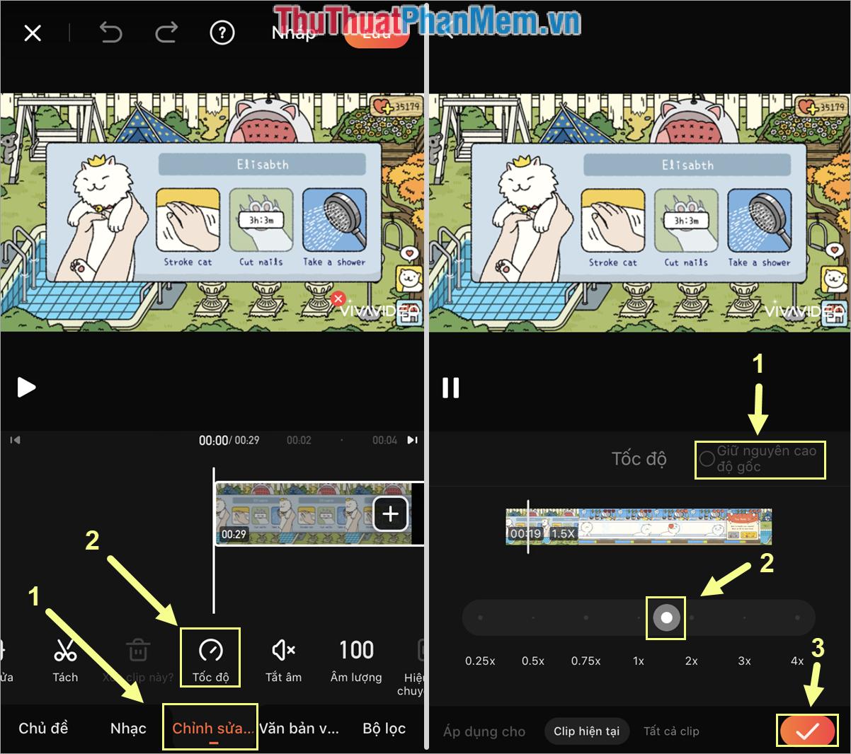 Sau khi điều chỉnh xong, phần mềm sẽ cho các bạn xem thử Video và khi các bạn ưng ý thì các bạn chọn Hoàn tất