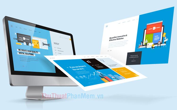 Top phần mềm thiết kế giao diện Web tốt nhất