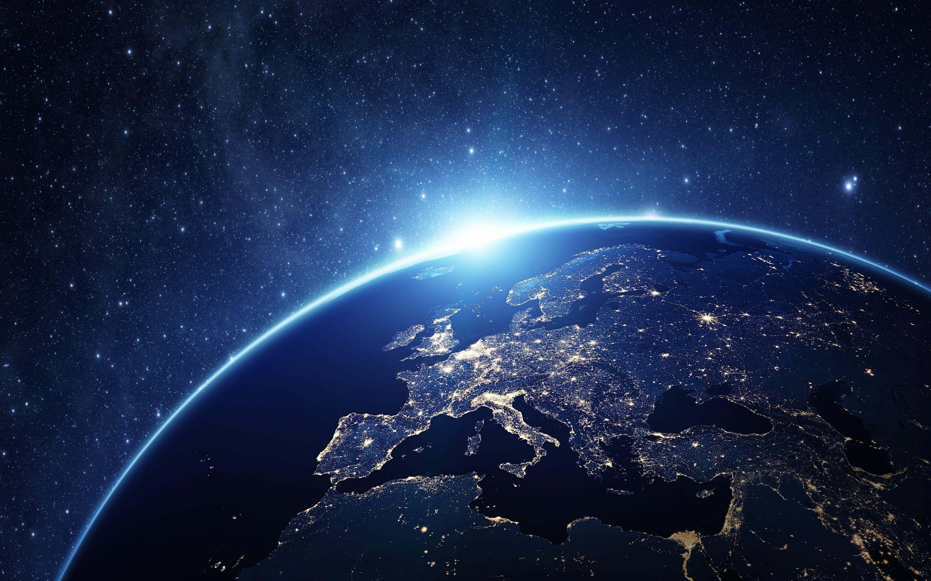 Hình nền trái đất 4K