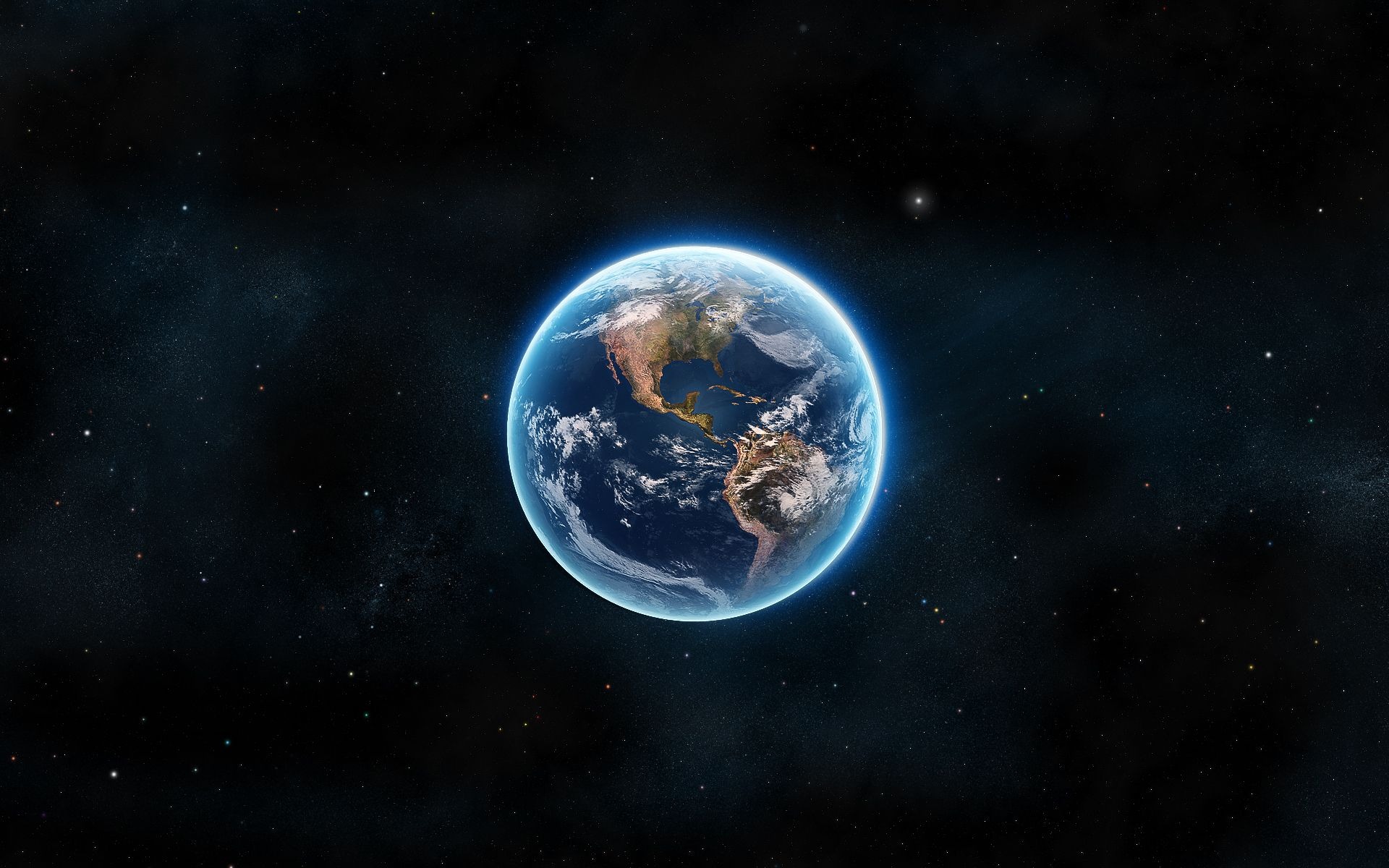 Hình nền trái đất cực nét
