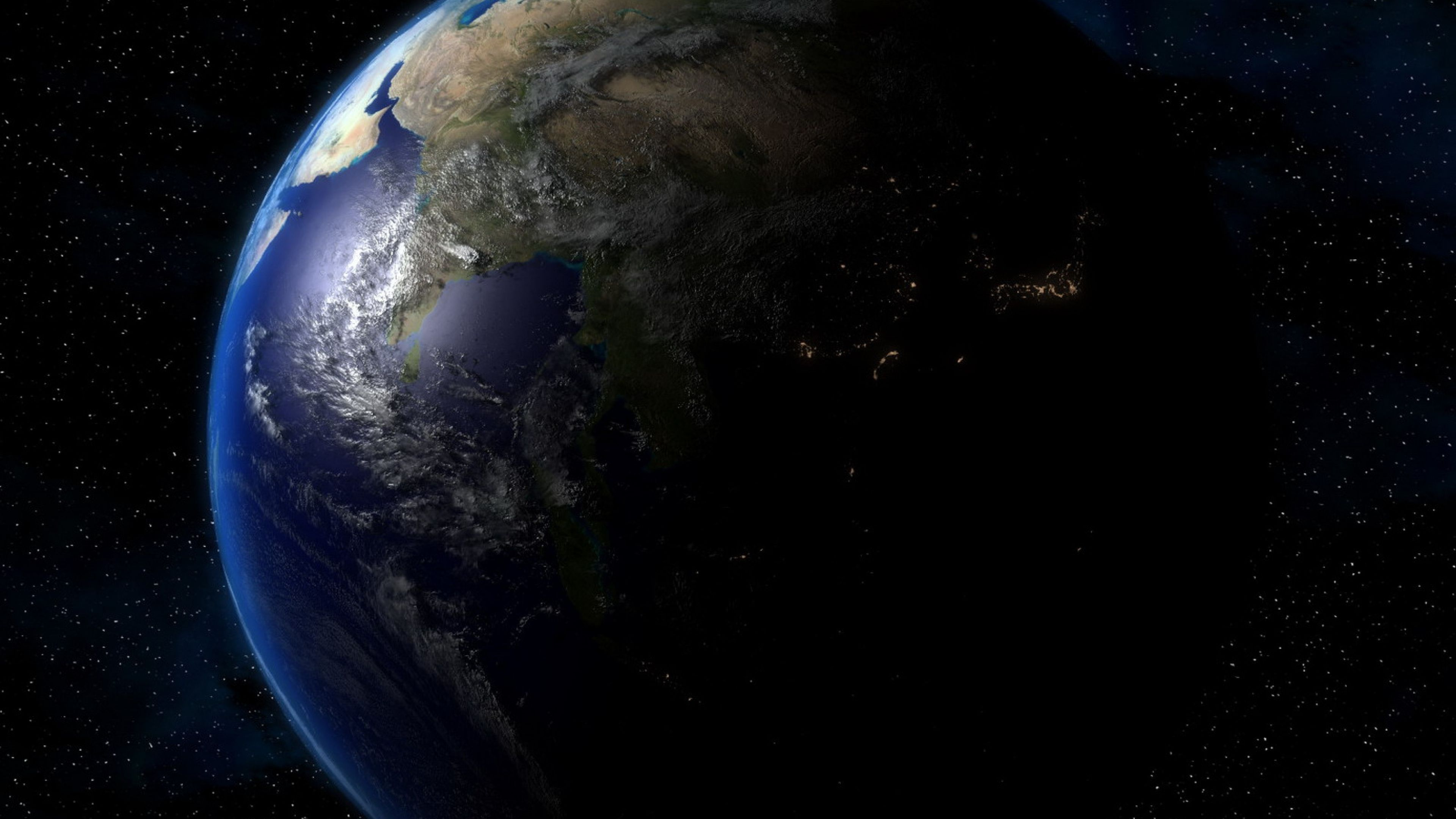 Hình nền trái đất khổng lồ