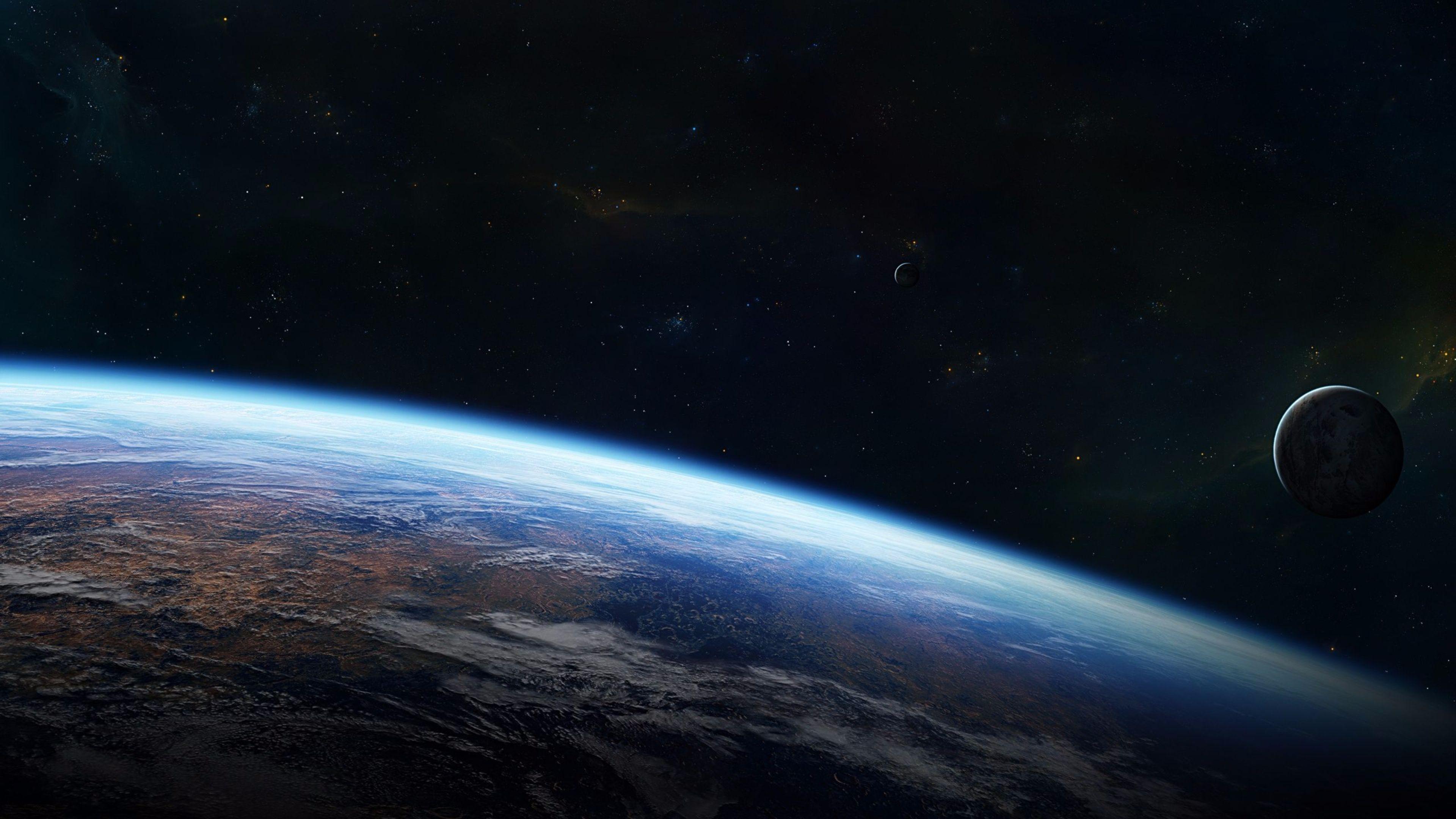 Hình nền trái đất ngoài vũ trụ