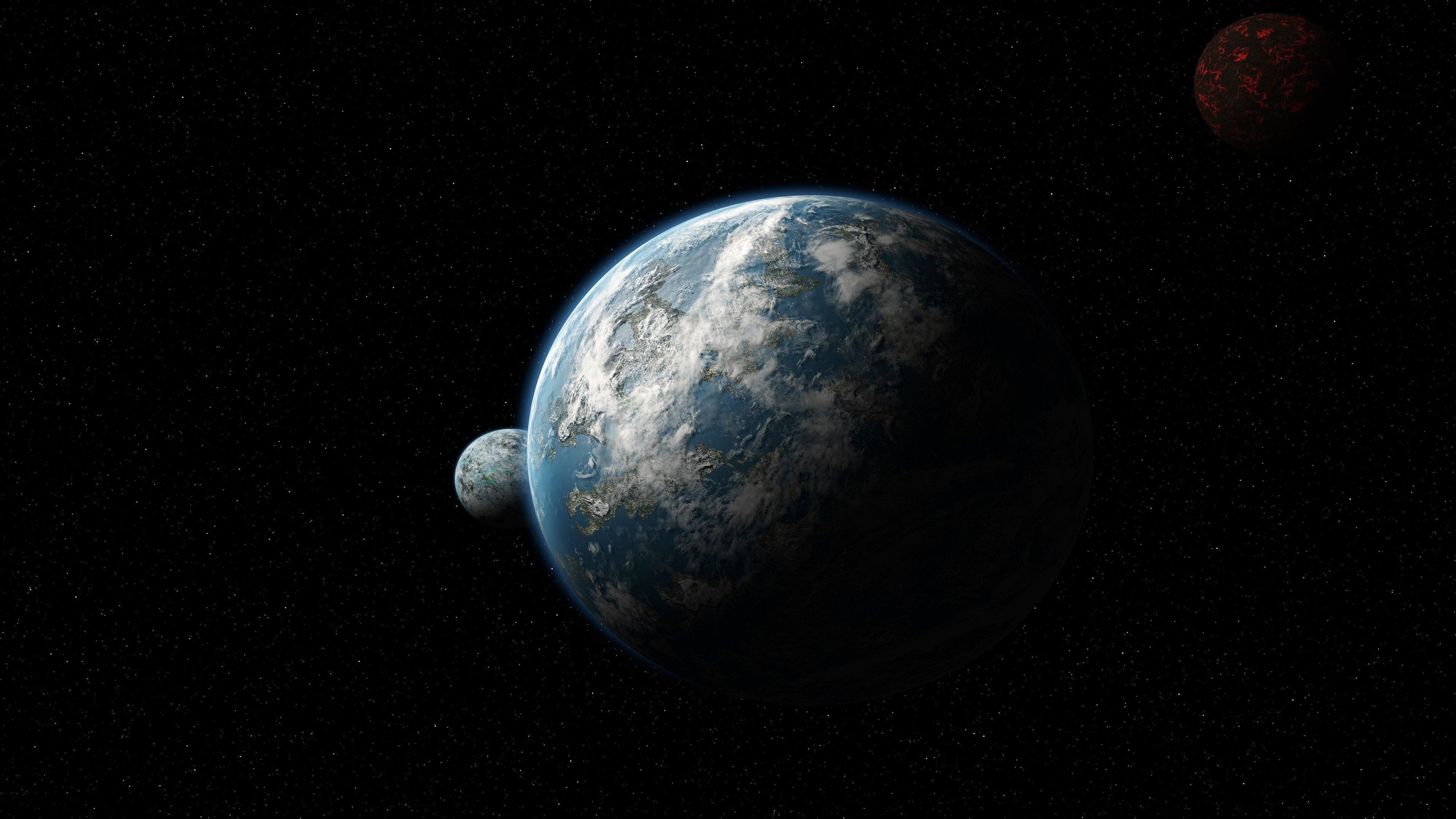 Hình nền trái đất siêu nét
