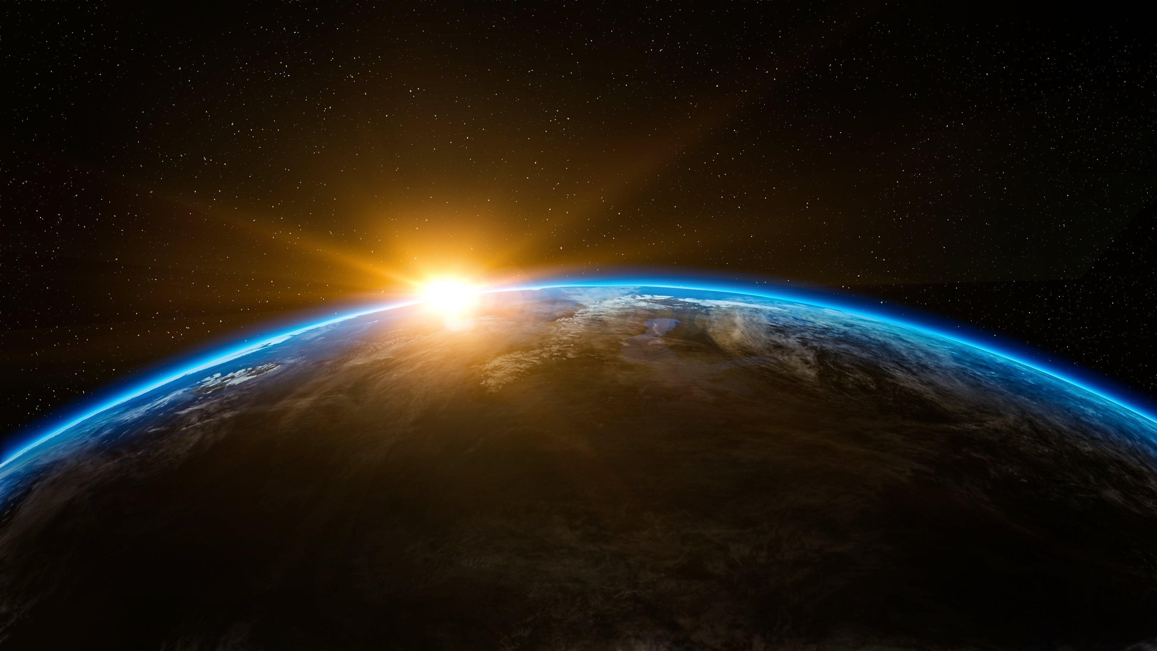 Hình nền trái đất từ vệ tinh