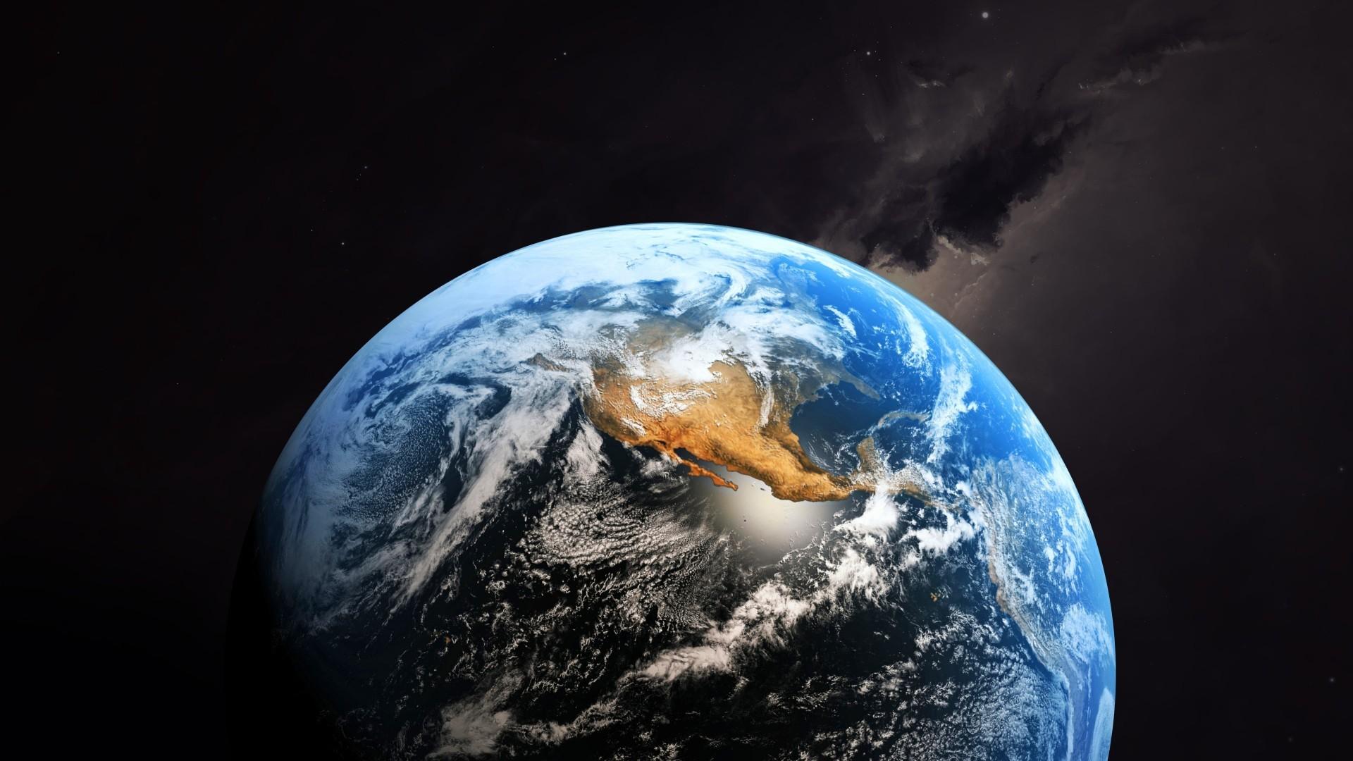 Hình nền trái đất vũ trụ đẹp