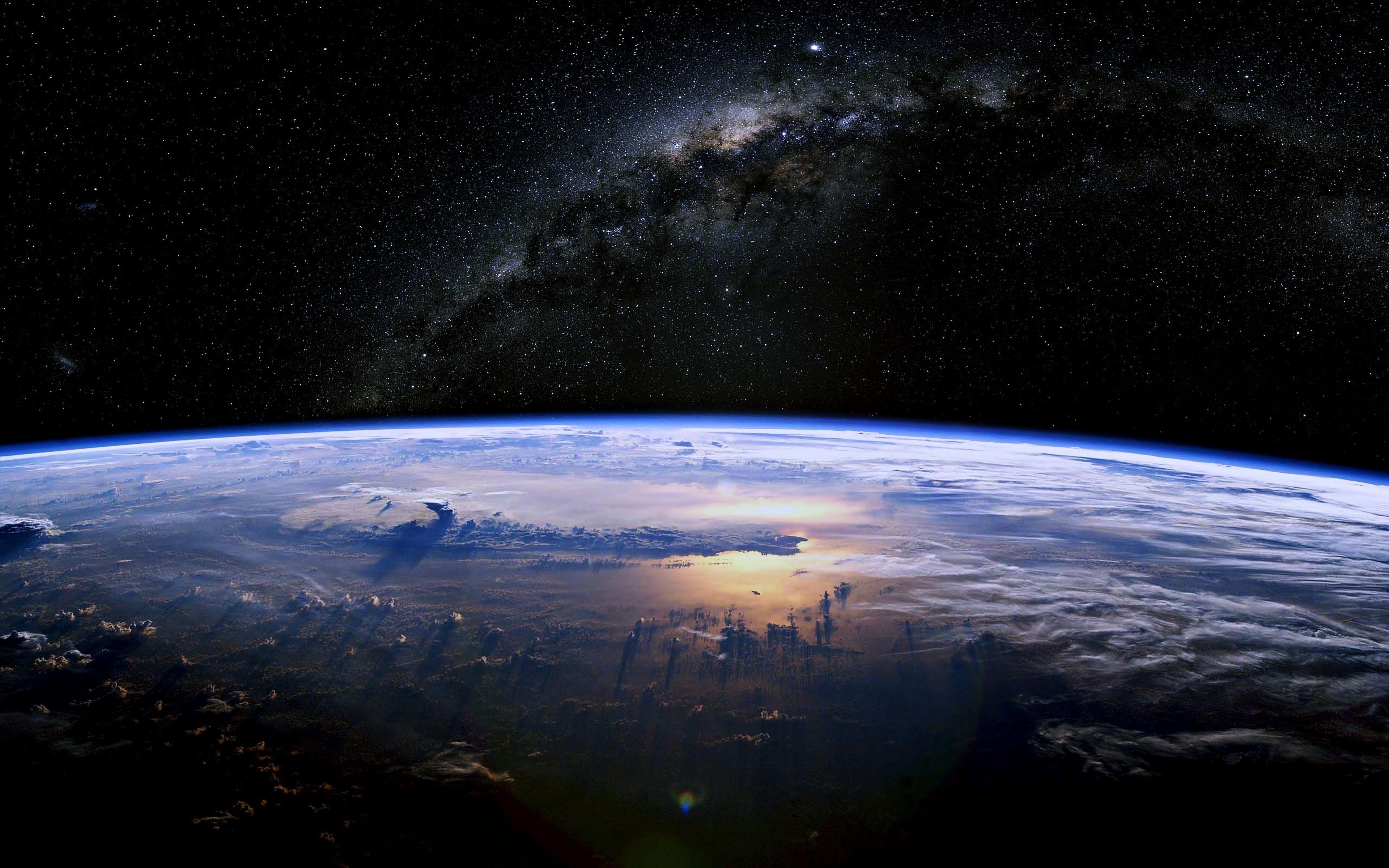 Hình nền trái đất vũ trụ