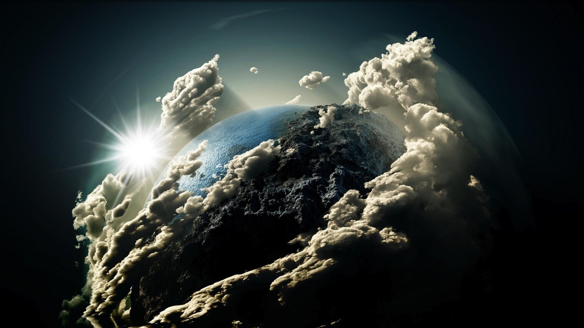 Hình nền trái đất xanh cực đẹp