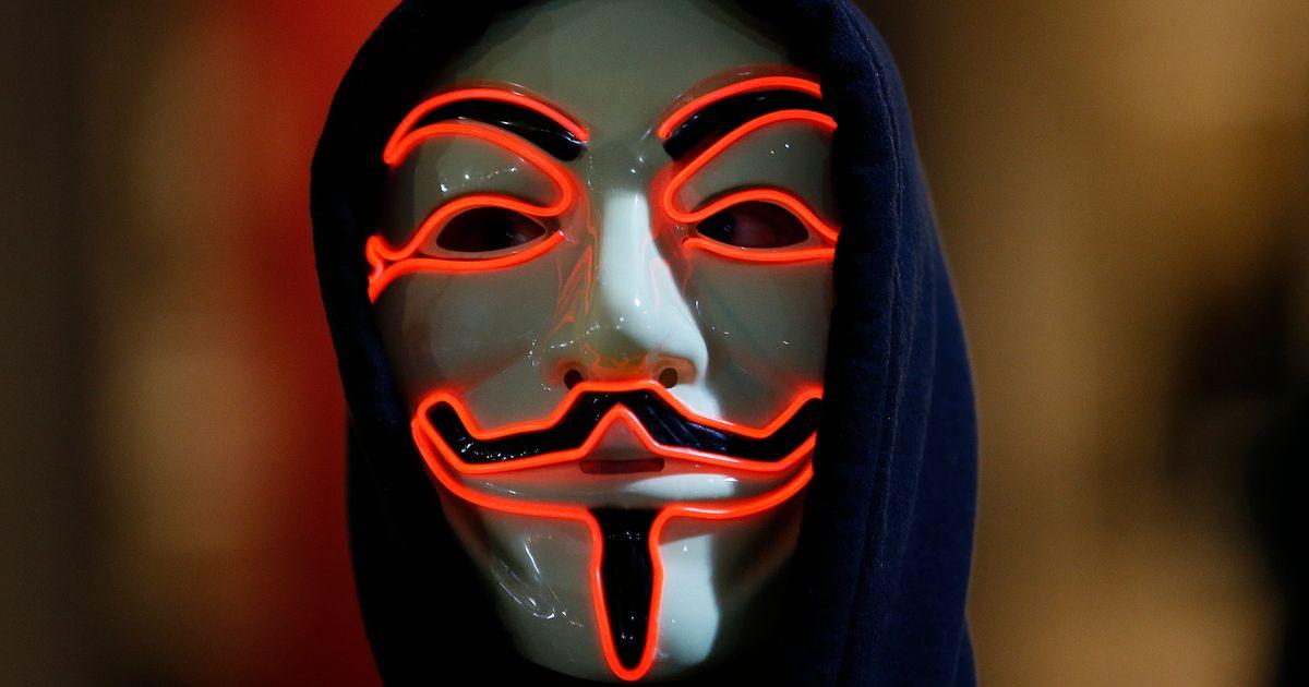 Ảhh Anonymous hài hước