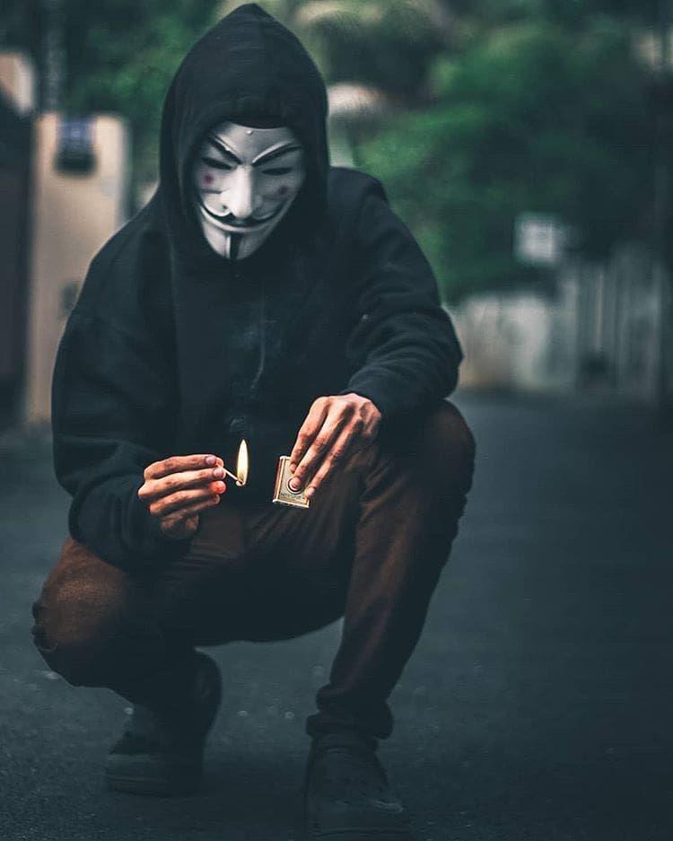 Ảnh Anonymous ẩn danh