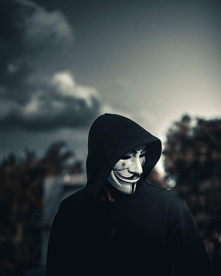 Ảnh Anonymous cool ngầu đẹp
