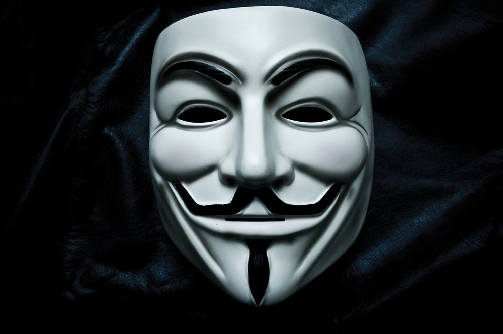 Ảnh Anonymous cực ngầu