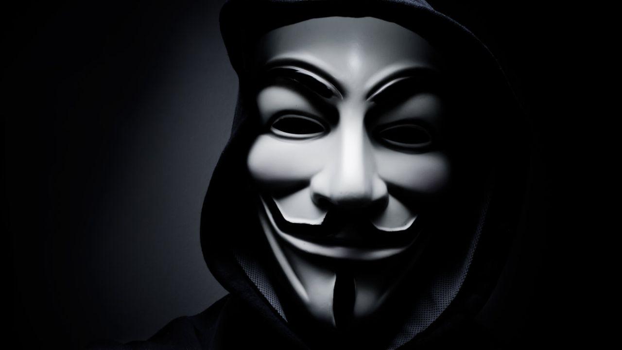 Ảnh Anonymous và mặt nạ
