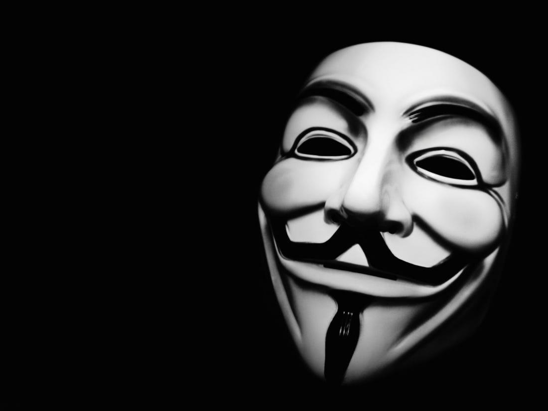 Ảnh đẹp về Anonymous