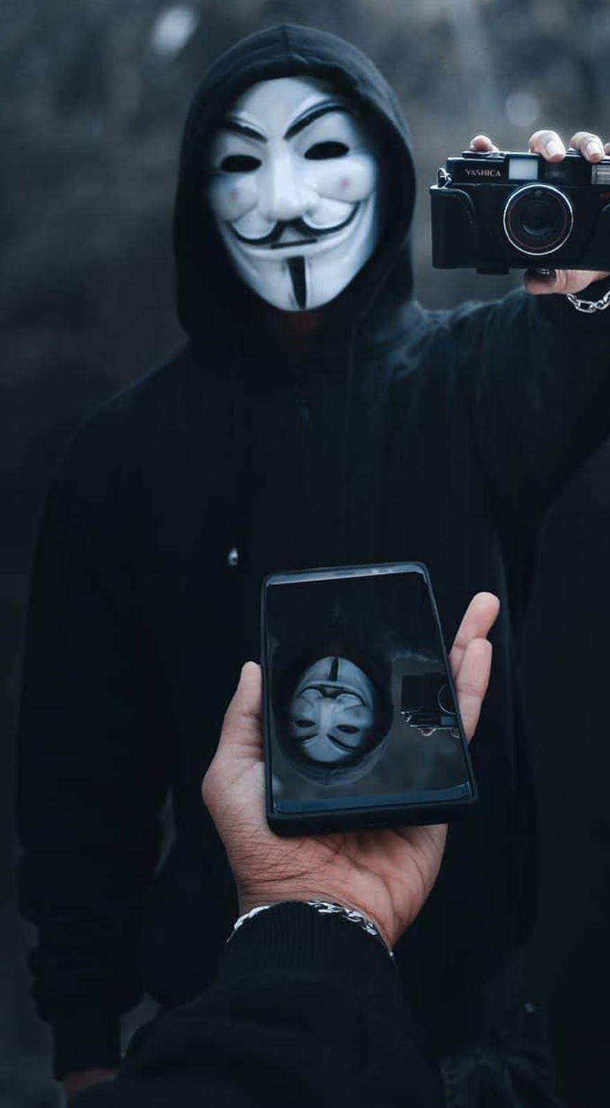 Ảnh Hacker ẩn danh Anonymous