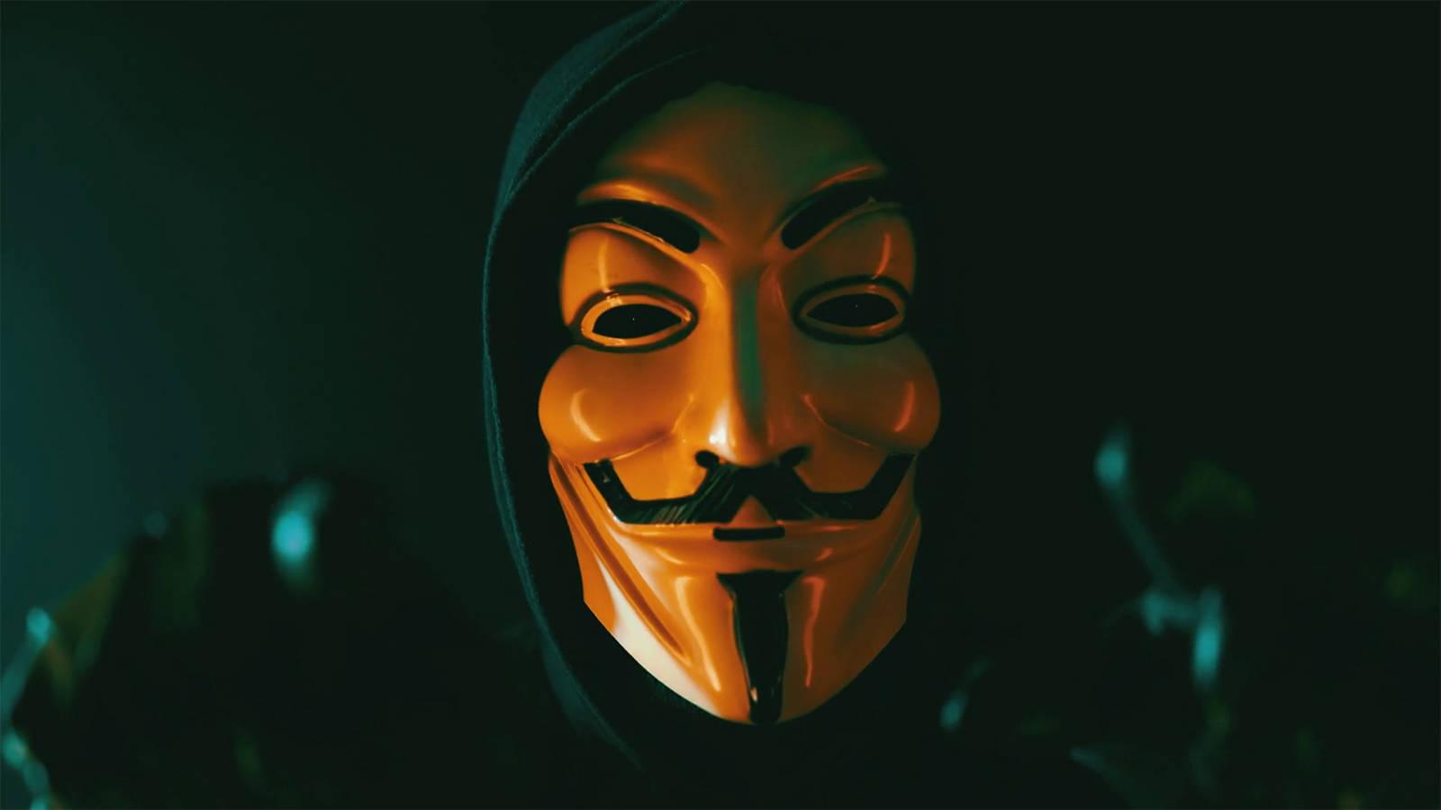 Ảnh Hacker mặt nạ Anonymous đẹp nhất