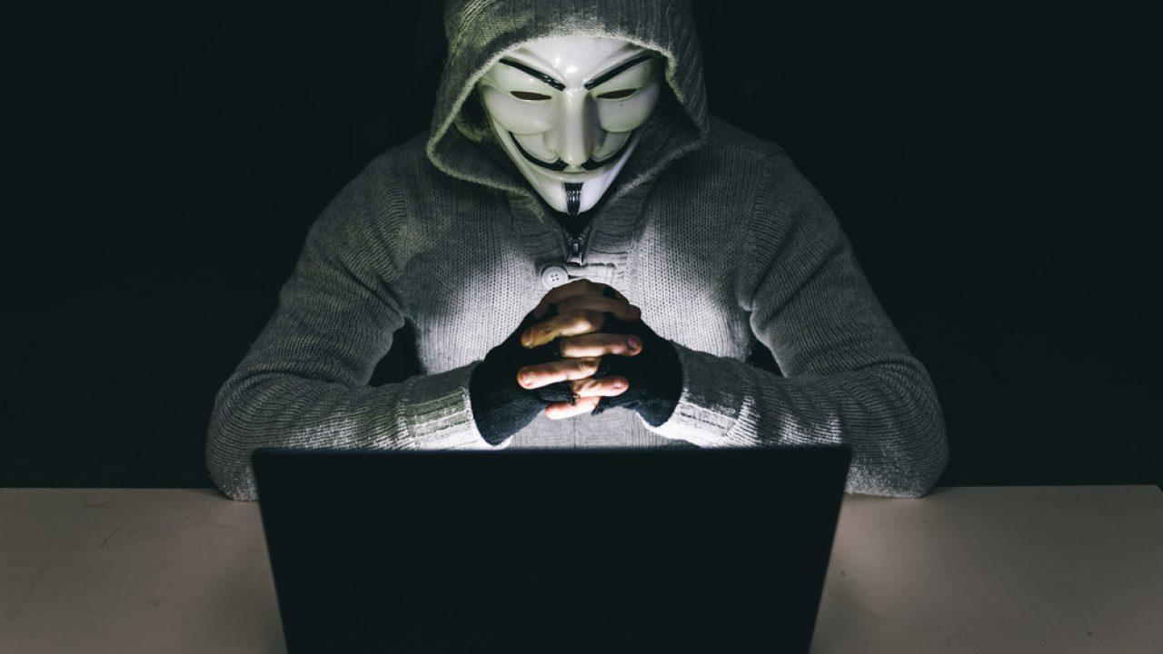 Ảnh người đeo mặt nạ Anonymous