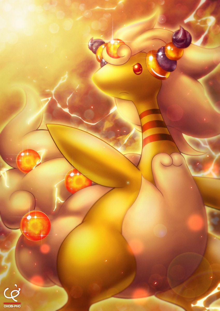 Ảnh Pokemon Mega Ampharos