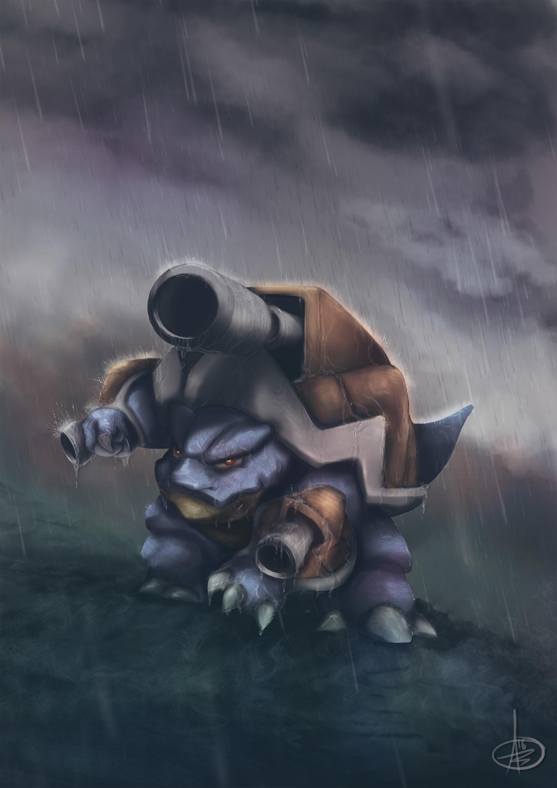 Ảnh Pokemon Mega Blastoise đẹp