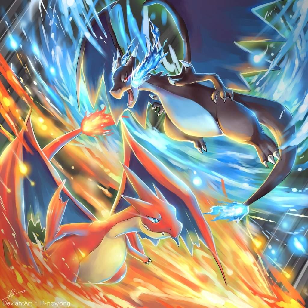 Ảnh Pokemon Mega Charizard cực đẹp