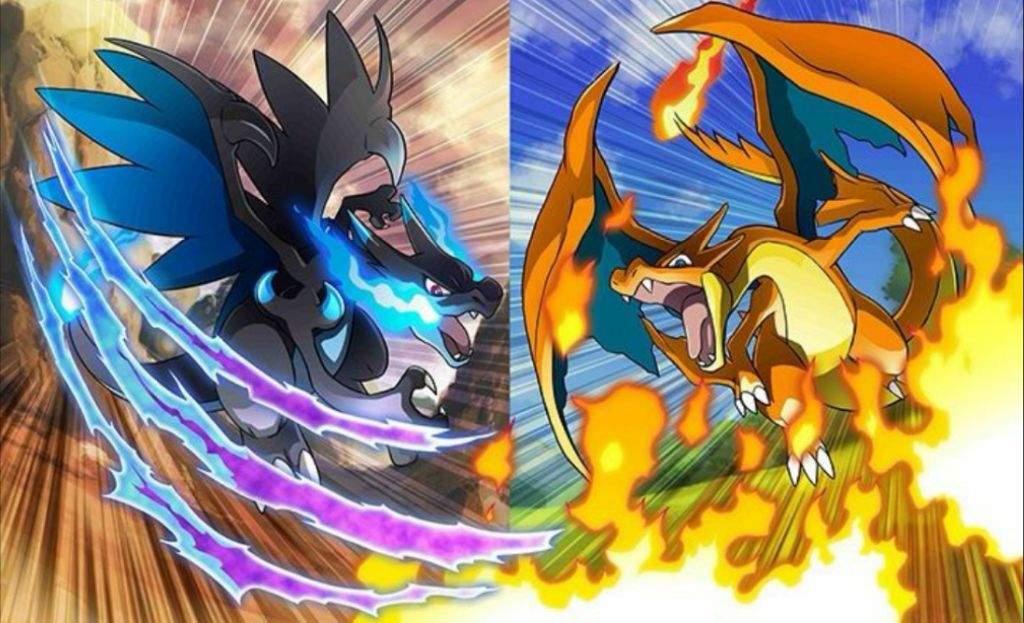 Ảnh Pokemon Mega Charizard đẹp nhất