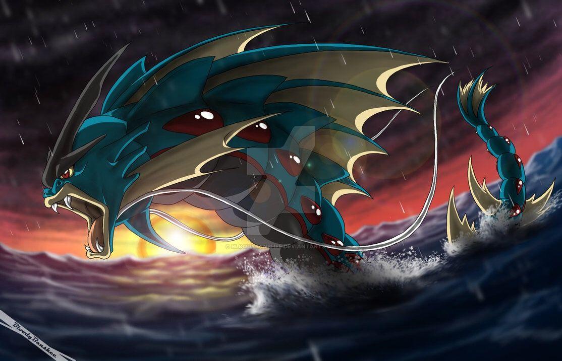 Ảnh Pokemon Mega Gyarados đẹp