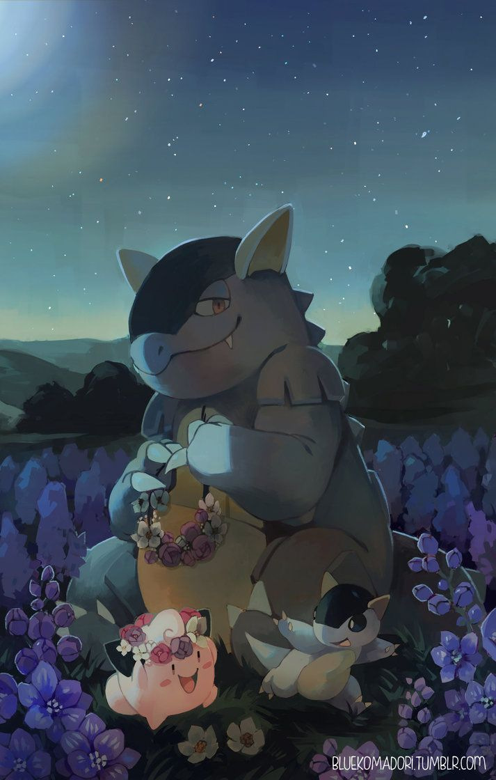 Ảnh Pokemon Mega Kangaskhan