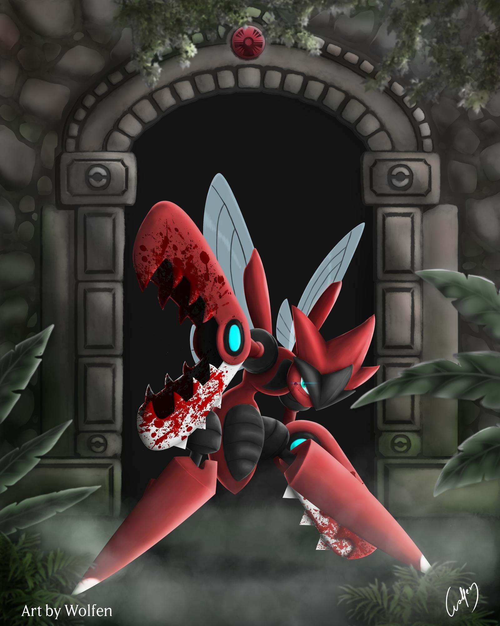Ảnh Pokemon Mega Scizor đẹp