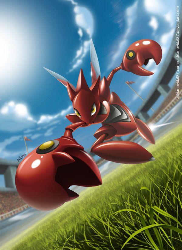 Ảnh Pokemon Mega Scizor