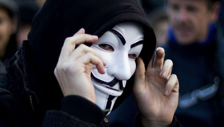 Ảnh xã hội Anonymous ngầm