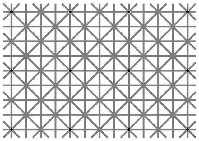 Hình ảnh ảo giác chuyển động loạn mắt
