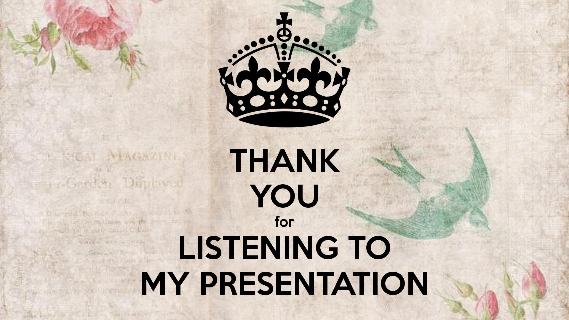 Hình ảnh cảm ơn đã lắng nghe bằng tiếng Anh