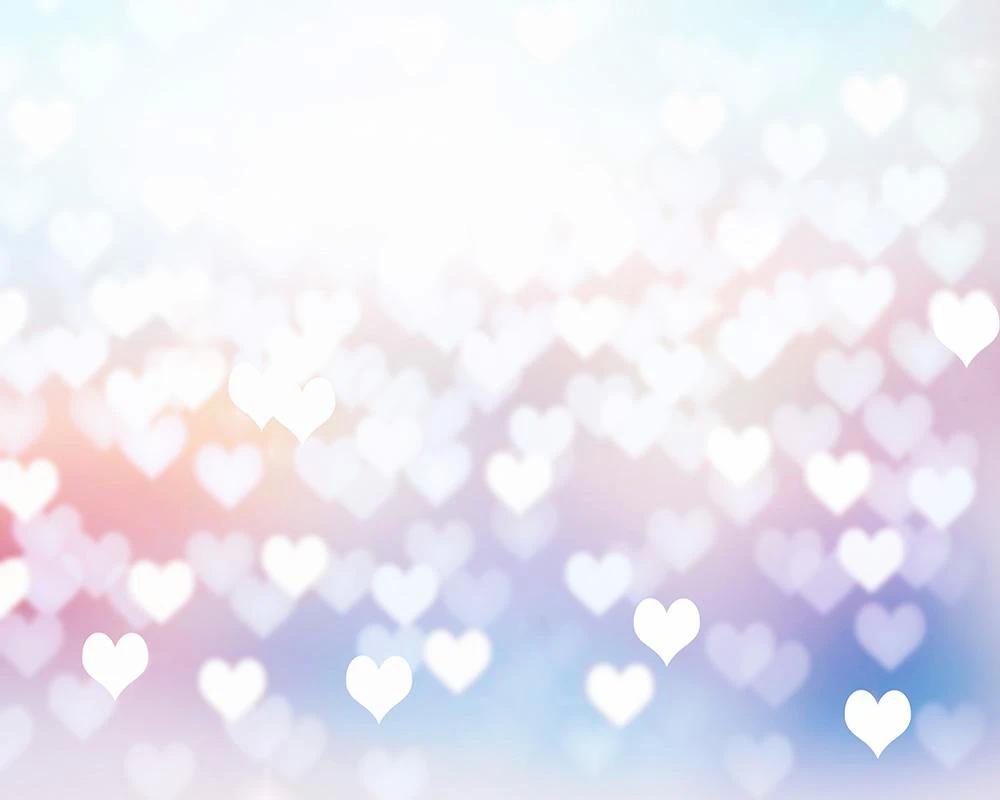 Background trái tim lung linh