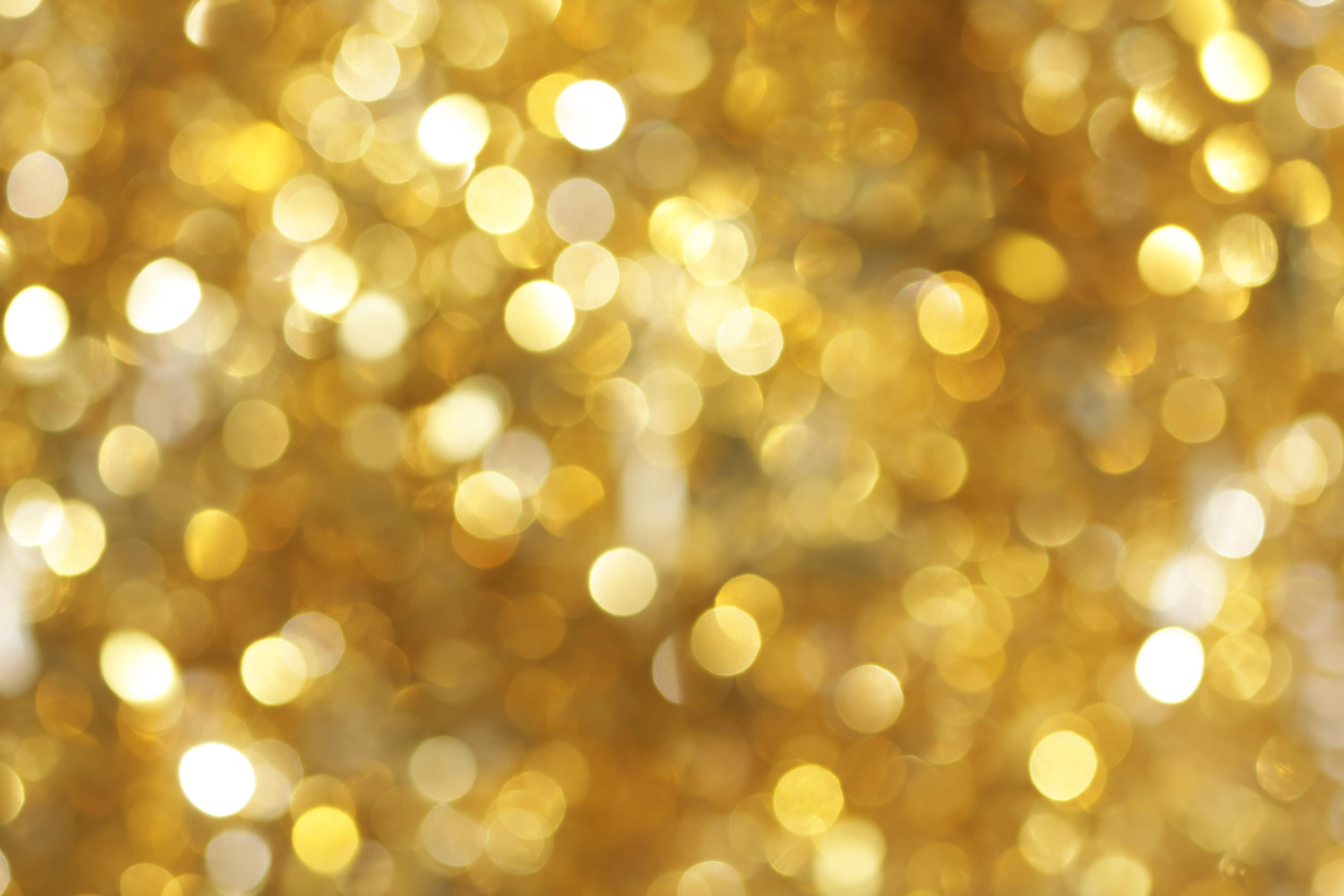 Background vàng lấp lánh