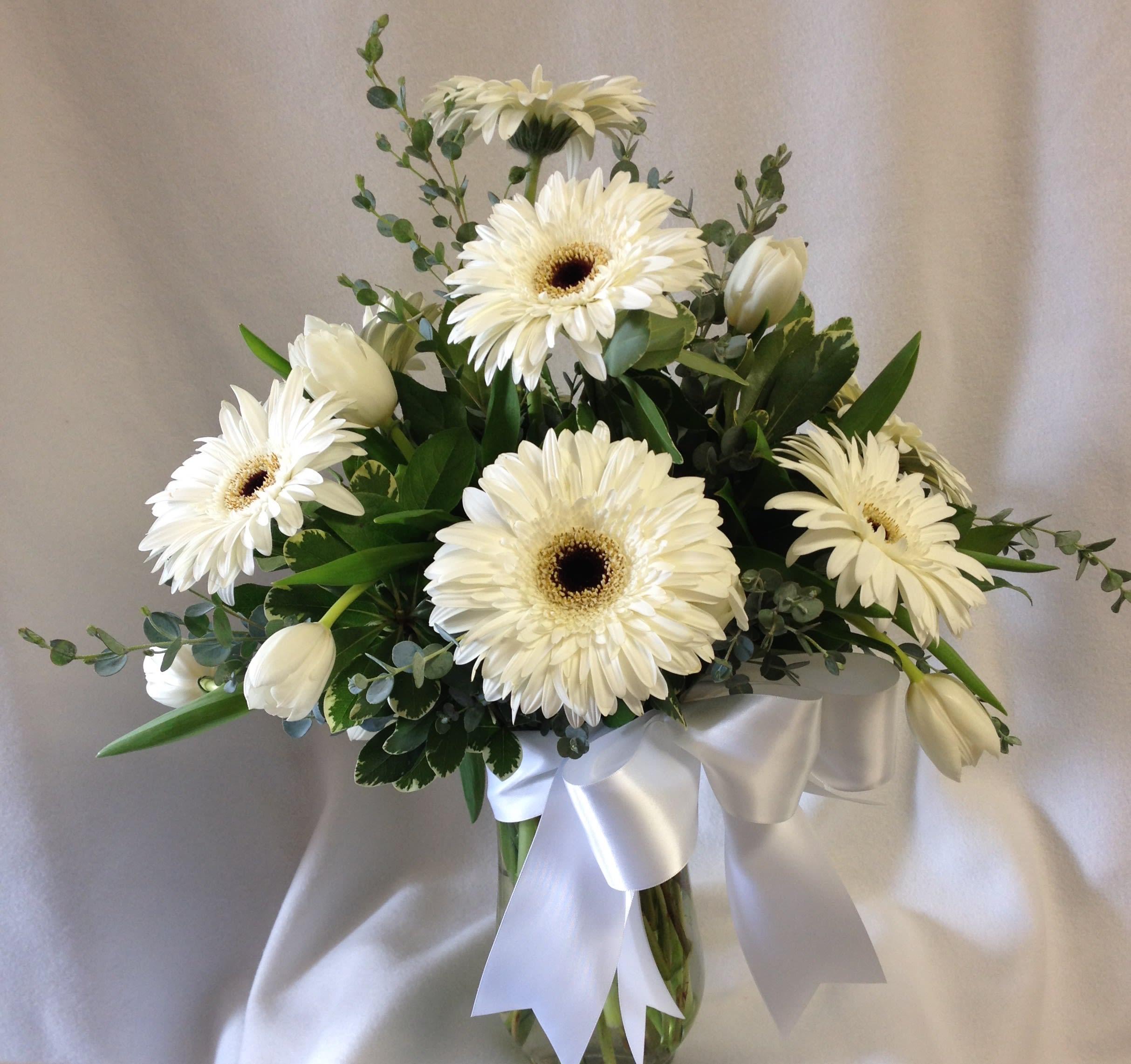 Bó hoa cưới hoa đồng tiền