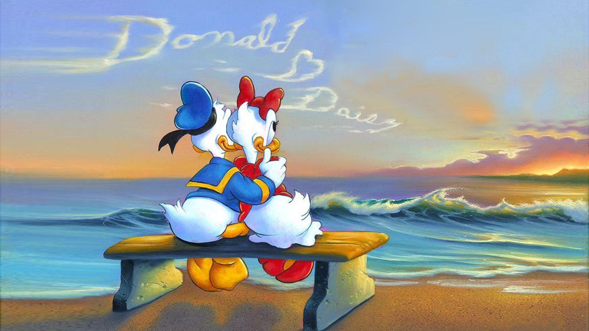 Hình ảnh vịt Donald Cute đáng yêu