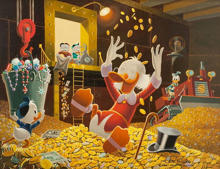 Hình ảnh vịt Donald dễ thương ngộ nghĩnh