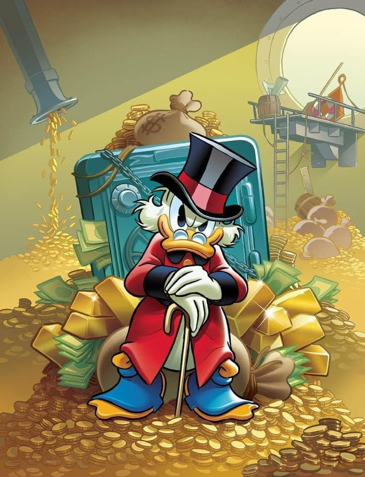 Hình ảnh vịt Donald đẹp