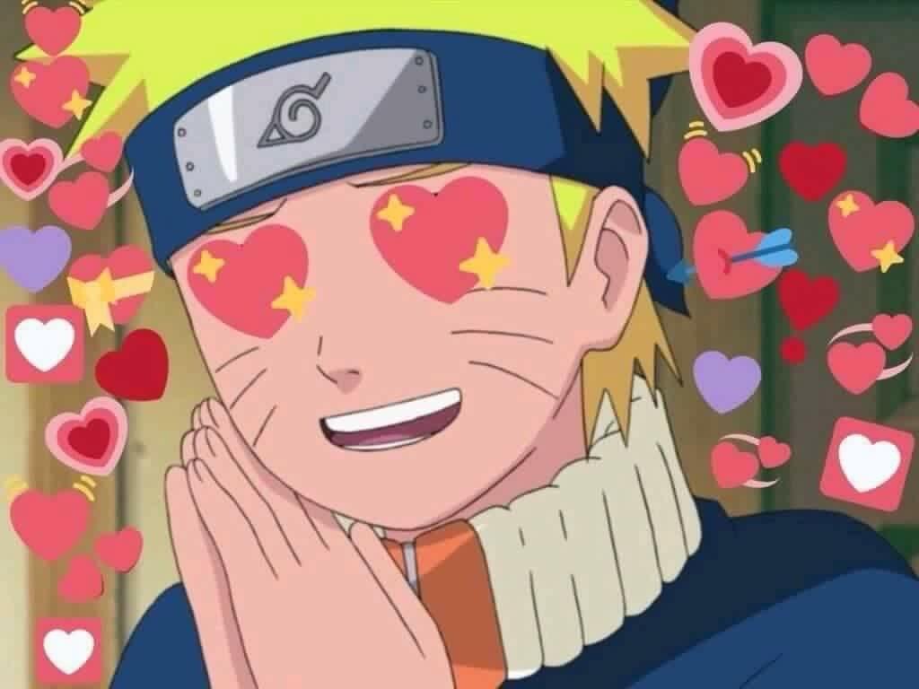 Ảnh chế Naruto tình yêu