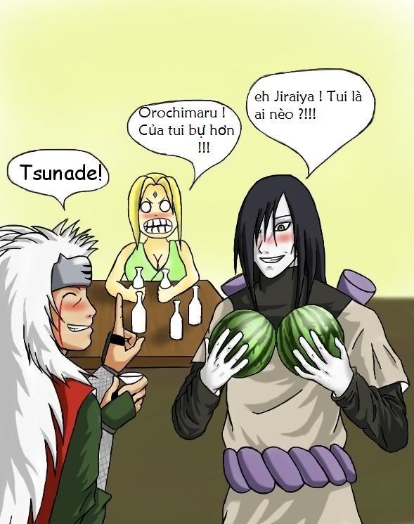 Ảnh Meme Naruto hài hước